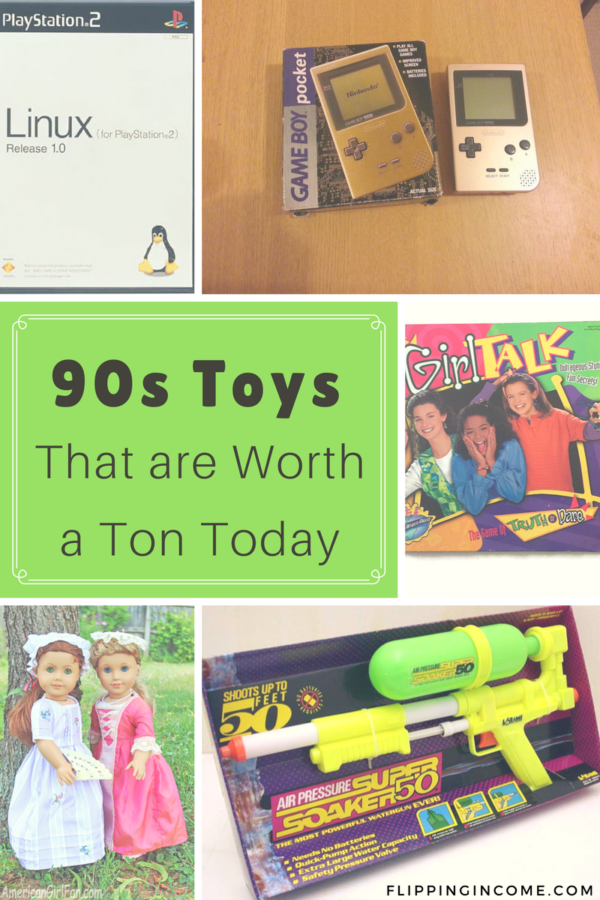 90s Toys That are Worth a Ton Today