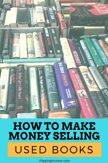 how to make money selling used books