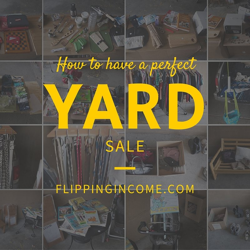 How to have a perfect yard (garage) sale