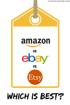 Amazon vs eBay vs Etsy | Which Is best?