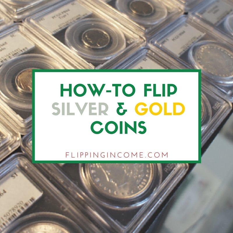 How to flip silver and gold coins