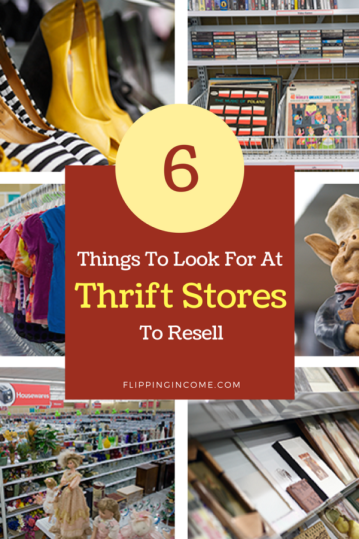 6 things to look for at thrift stores