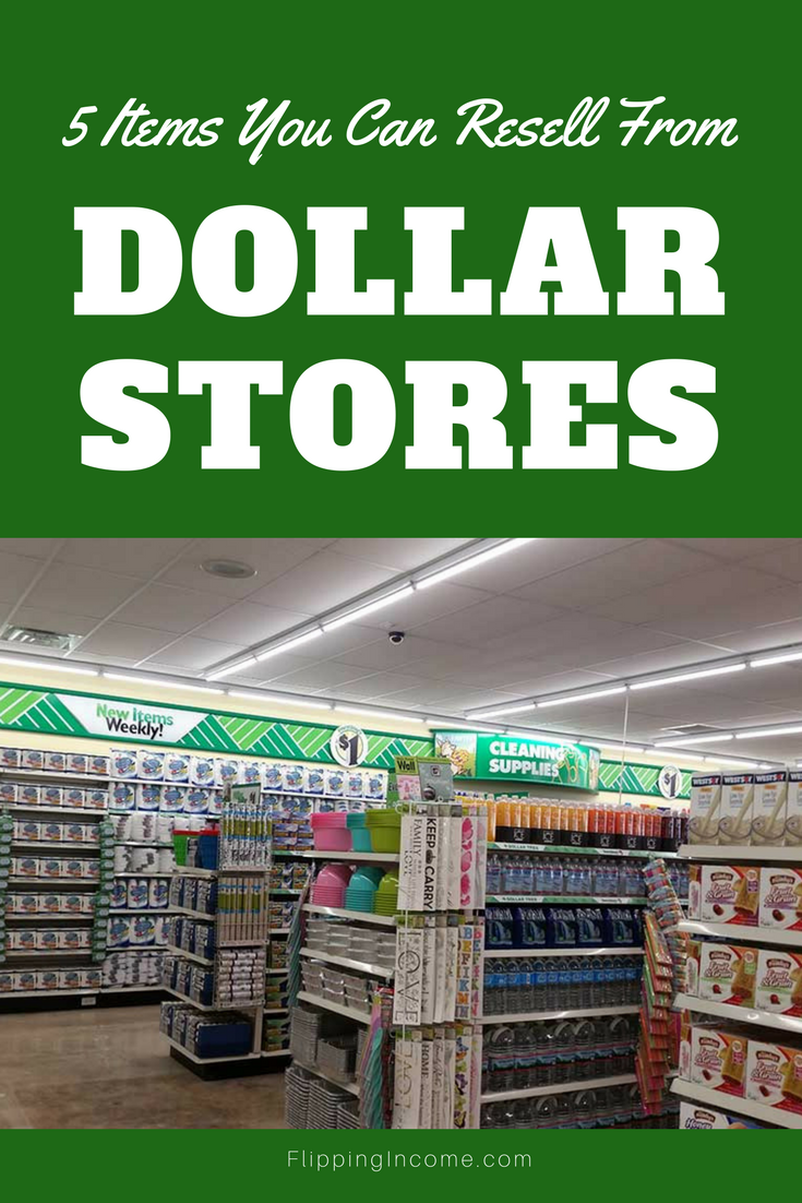 5 items you can resell from Dollar Stores