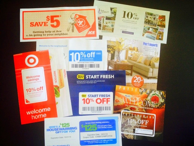 USPS Movers Packet Coupons