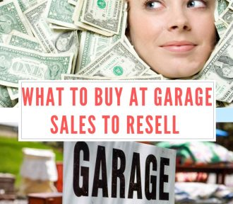 What to Buy at Garage Sales to Resell
