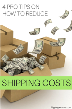 4 pro tips on how to reduce shipping costs