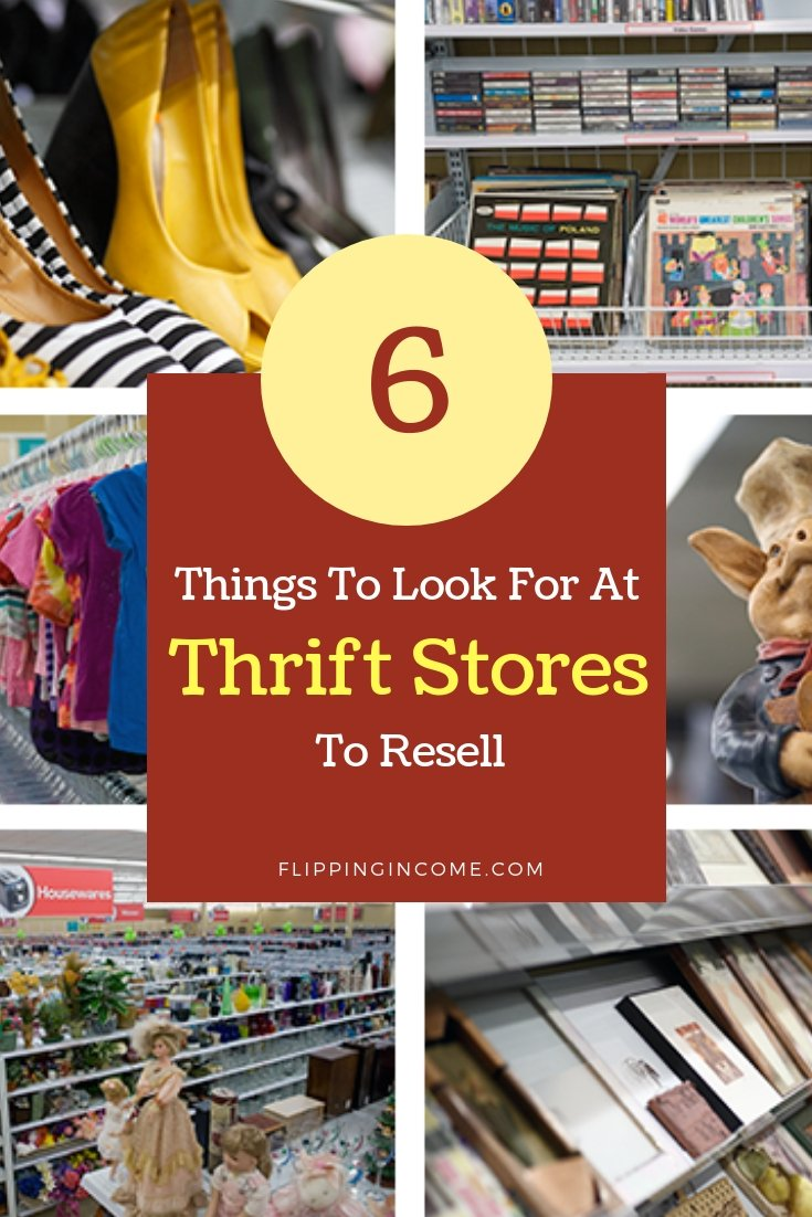 6 things to look for at thrift stores to resell