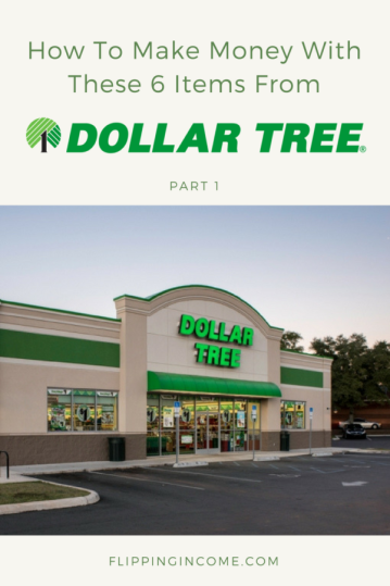 How to make money with these 6 items from dollar tree part 1 for Dollar store items online