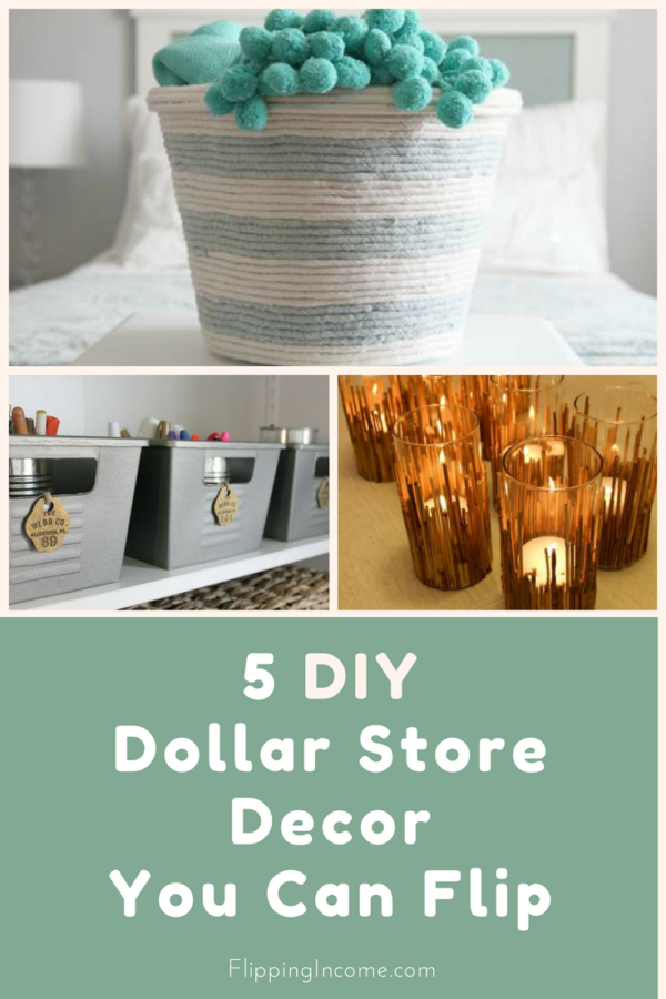 5 DIY Dollar Store Decor You Can Flip