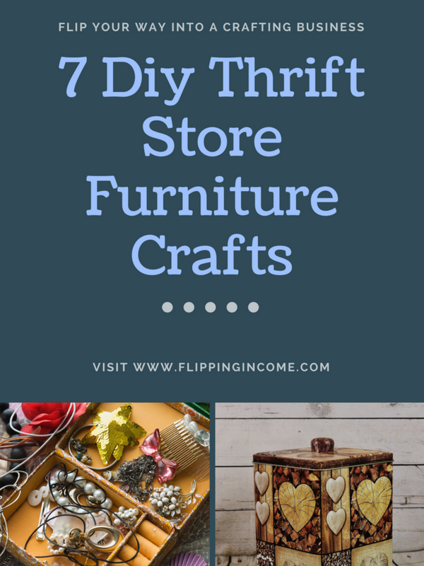 7 DIY Thrift Store Furniture Crafts