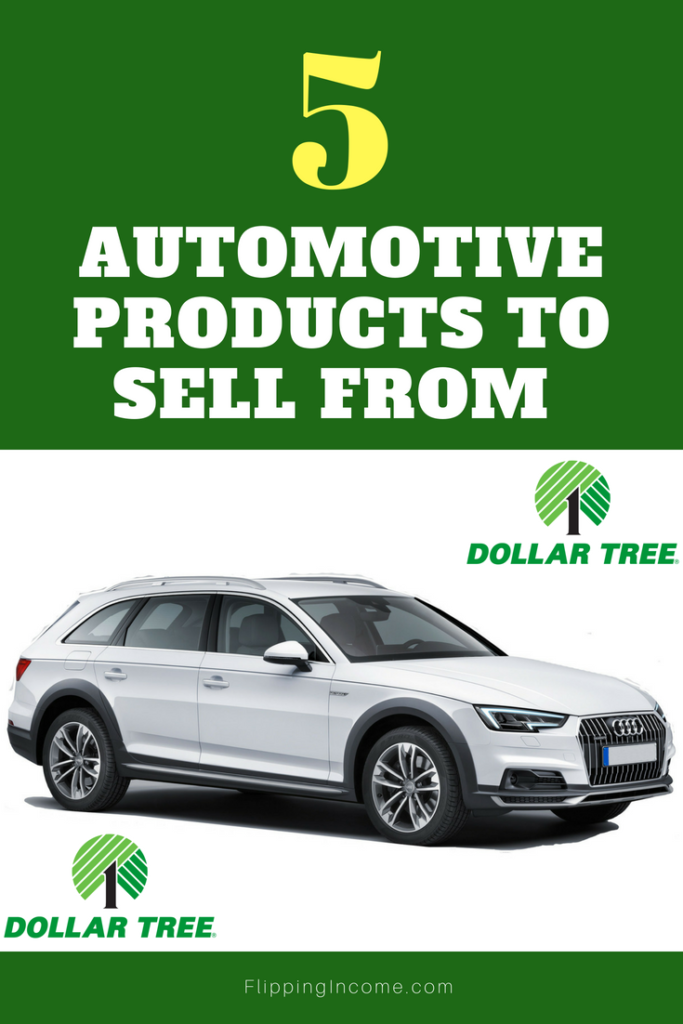5 Automotive Products To Sell from Dollar Tree