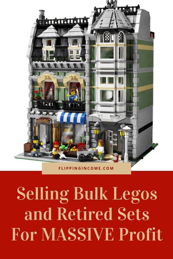 Selling Bulk Legos and Retired Sets For MASSIVE Profit