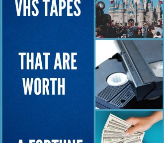 Top 10 Disney VHS Tapes that are Worth a Fortune