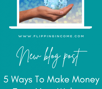 5 Ways to Make Money From Your Website